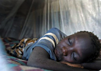 second-stage Human African Trypanosomiasis, or sleeping sickness