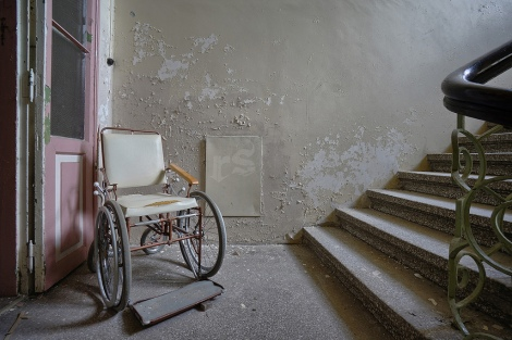 Image from abandoned Tuberculosis sanitarium. Image source: Flickr Creative Commons.