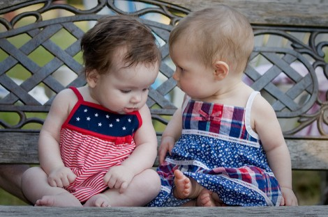 Babies start learning about language long before they begin to speak. Photo by Dean Wissing via Flickr.