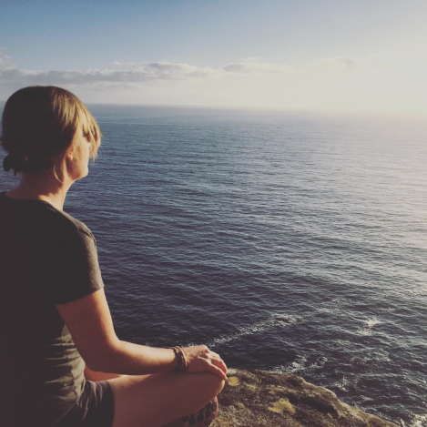 Meditation does not require amazing scenery pictured here and can be practiced in the comfort of your home. However, the environment (whether indoors or outdoors) can aid in your practice and enhance the experience.