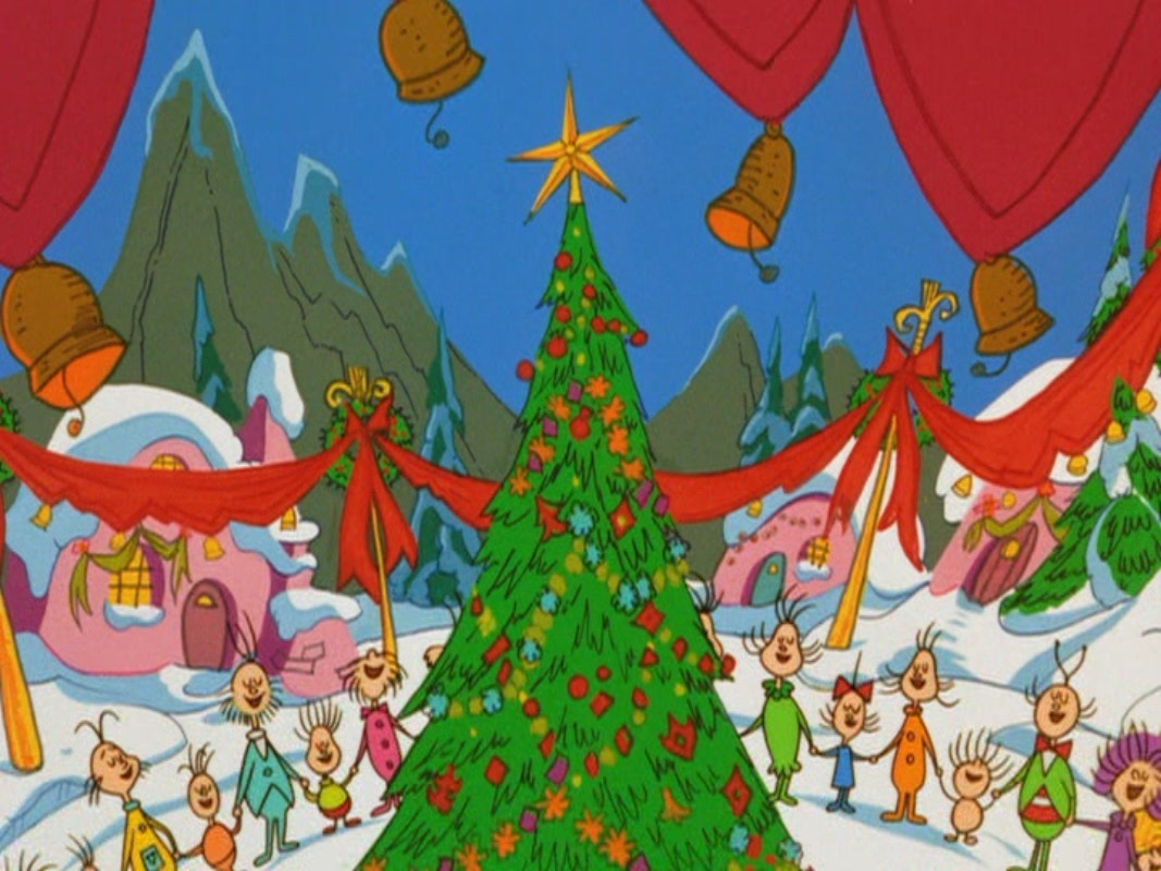 The Grinch Christmas Tree Movie.In Defense Of Mr Grinch Sleigh Bells Ring Are You